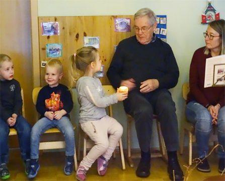 Adventfeier Kindergarten Gemünden Kreuzschwestern